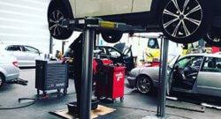 Onderhoud auto garage